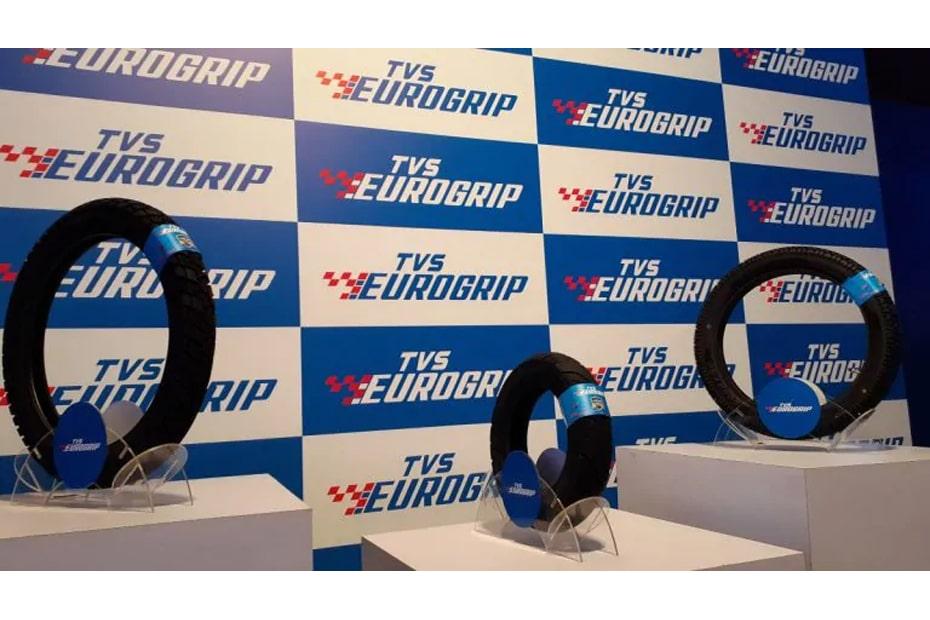 เปิดตัวยางใหม่ TVS Eurogrip สำหรับจักรยานยนต์ไฟฟ้าและสมรรถนะสูง