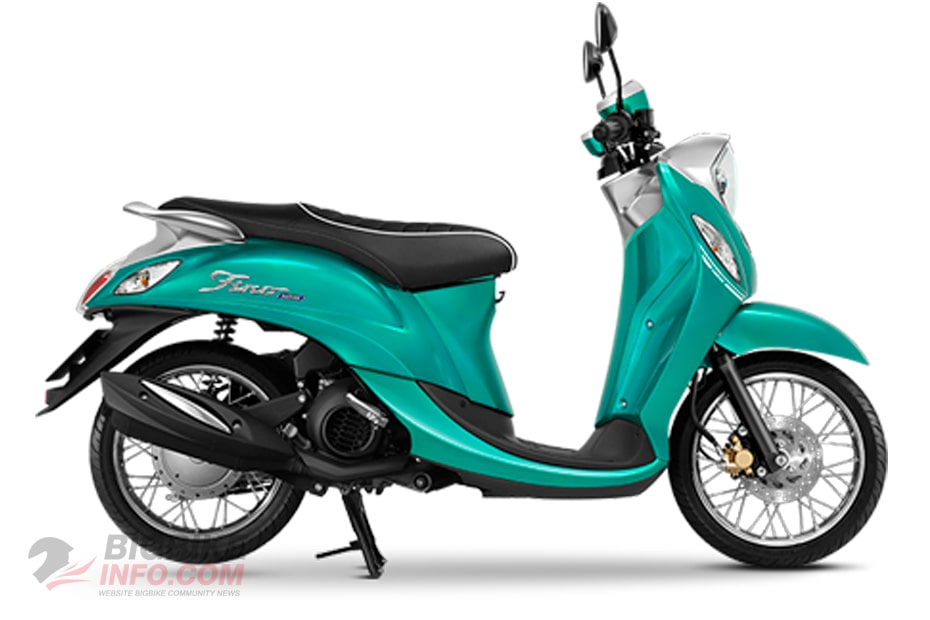 ยามาฮ่า ฟีโน่125 2021 สีเขียว