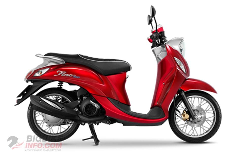 ยามาฮ่า ฟีโน่125 2021 สีแดง