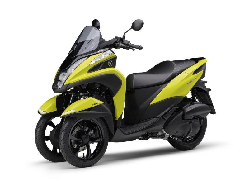 ยามาฮ่า Tricity 125 2021 ด้านหน้า