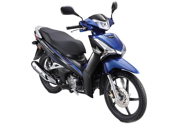 ฮอนด้า Wave 125i 2021 สีน้ำเงิน