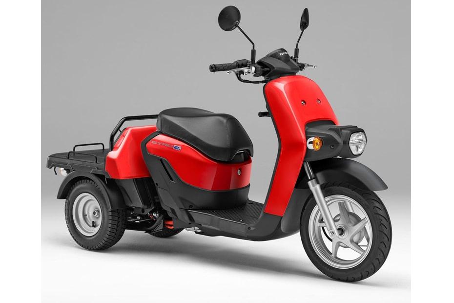 Honda ประกาศเปิดตัวมอเตอร์ไซค์สามล้อไฟฟ้า Gyro e: ปี 2021