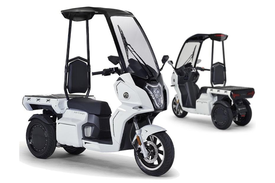 เปิดตัวรถจักรยานยนต์ AA Cargo α8 และ AA Cargo β8 2021 สามล้อไฟฟ้ารุ่นใหม่