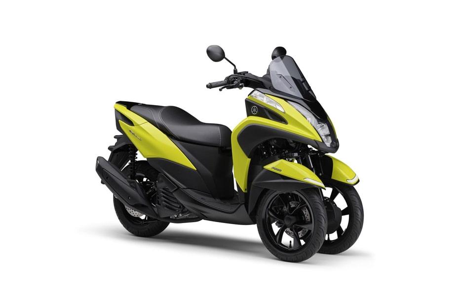 Yamaha เปิดตัว Tricity 125 2021 สีเหลืองใหม่สไตล์ในญี่ปุ่น