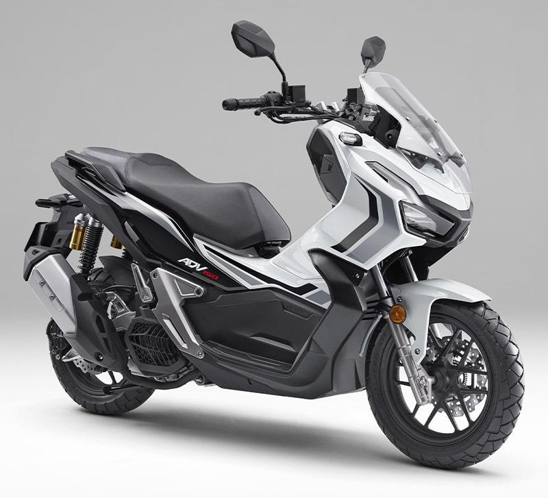 ฮอนด้า ADV150 2021 สีใหม่ Loss White