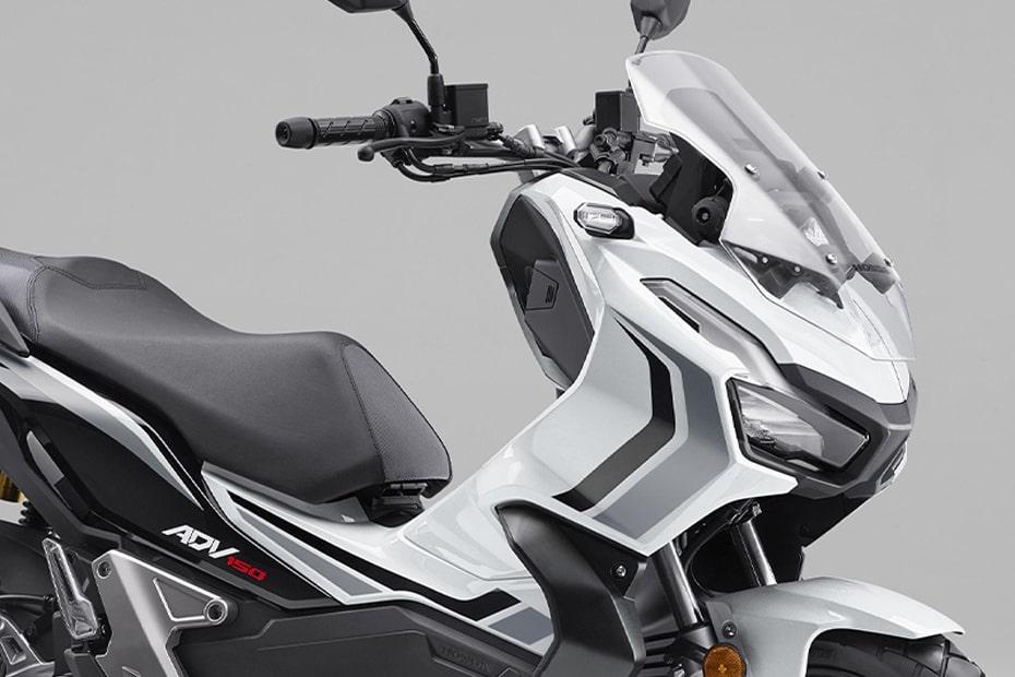 อัพเดทสีใหม่ Honda ADV150 2021 สีลิมิเต็ดอิดิชั่น Loss White