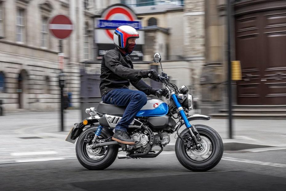 เผยโฉม Honda Monkey 125 พร้อมเครื่องยนต์ใหม่รุ่นปี 2022 สำหรับยุโรป