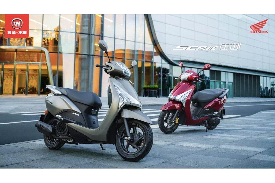 เปิดตัว Honda SCR110 2021 อย่างเป็นทางการในจีน