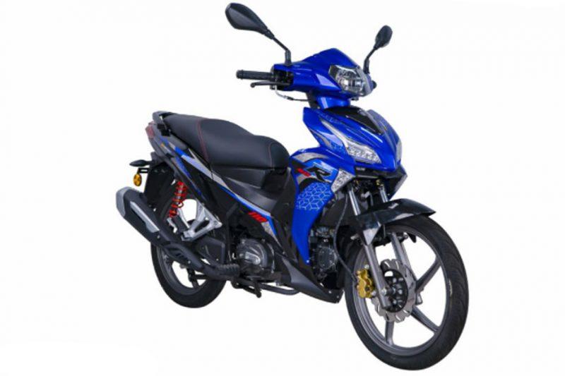 SM Sport 110R 2021 สีน้ำเงิน