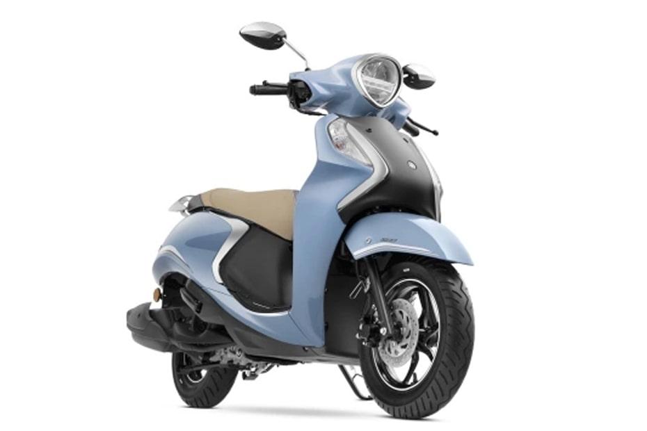 ยามาฮ่า Fascino 125 Fi Hybrid 2021 สีฟ้า