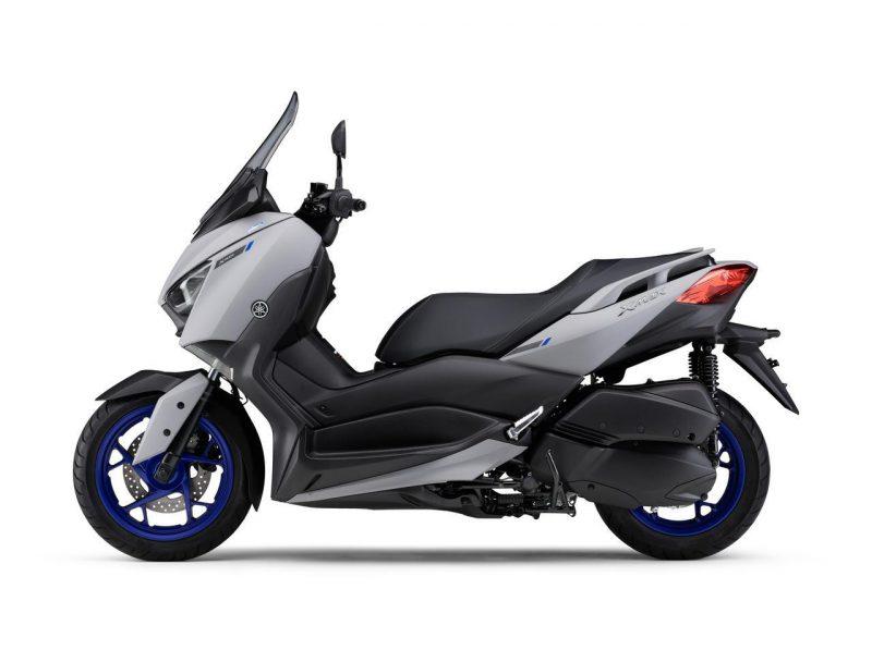 New XMAX ABS 2021 สีเทาแมท