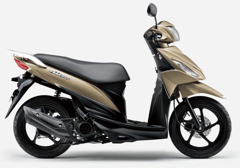 ซูซูกิ Address 110 Special Edition 2021 สี Matte Serene Gold Metallic