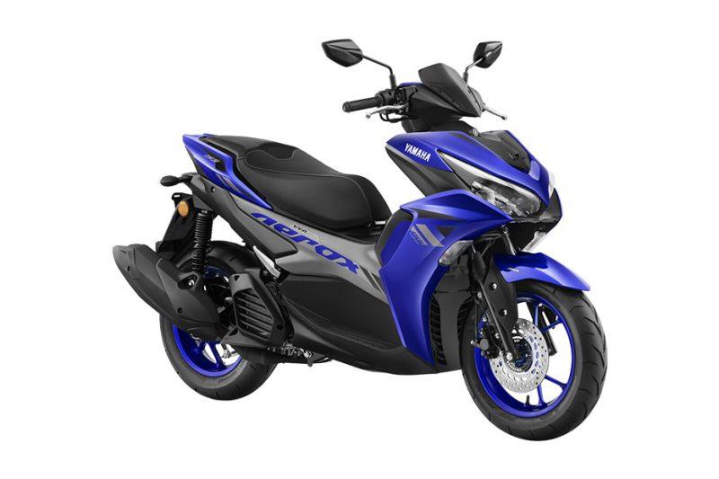 ยามาฮ่า Aerox 2022 สีน้ำเงิน