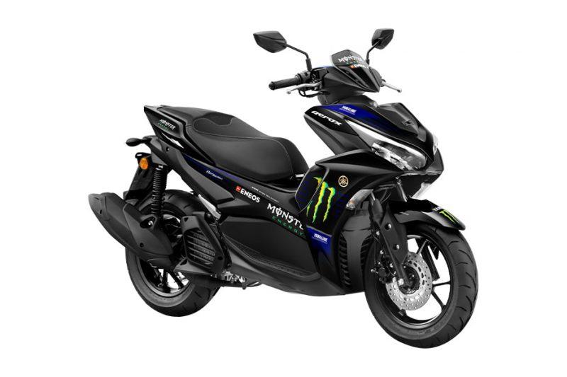 ยามาฮ่า Aerox 2022 Monster Energy Motogp