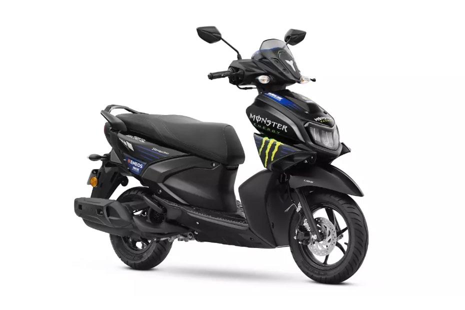 Yamaha RayZR 125 Fi Hybrid Monster Energy MotoGP Edition 2021 เปิดตัวในอินเดีย