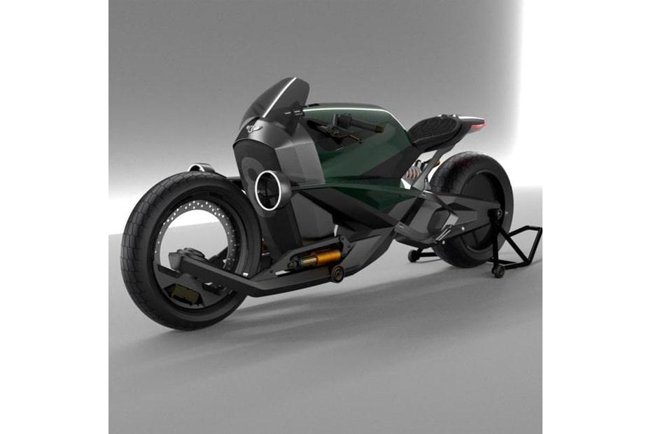เผยการออกแบบ Bentley Voltage Racer โดยชาวฝรั่งเศส