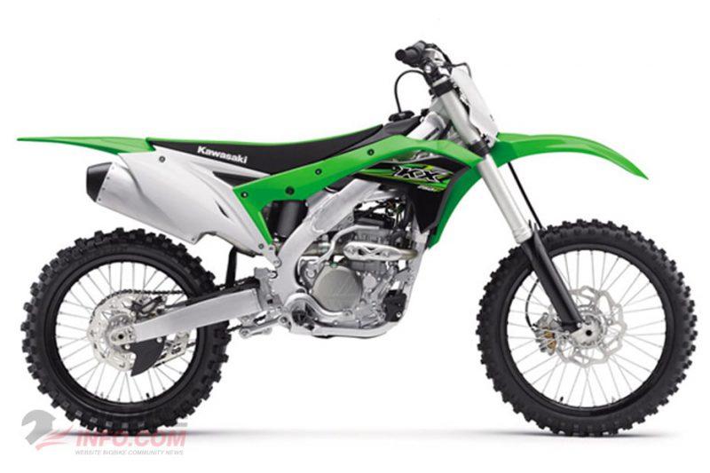 คาวาซากิ เคเอ็กซ์250 สีเขียว