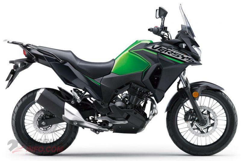 คาวาซากิ เวอร์ซิส เอ็กซ์ 300 ทัวร์เรอร์ สีเขียว-ดำ ปี 2020