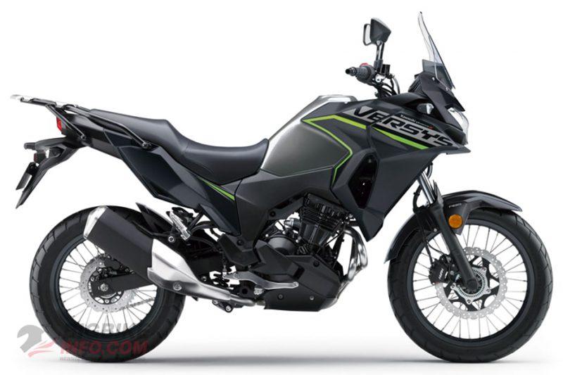 คาวาซากิ เวอร์ซิส เอ็กซ์ 300 ทัวร์เรอร์ สีเทา-ดำ ปี 2020