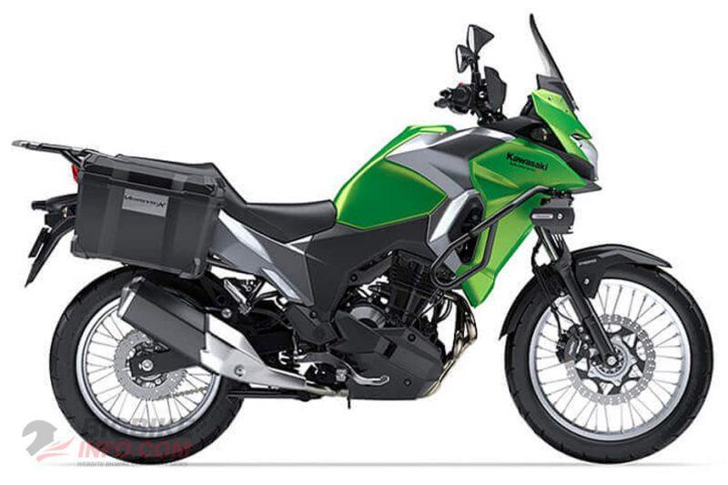 คาวาซากิ เวอร์ซิส เอ็กซ์ 300 สีเขียว
