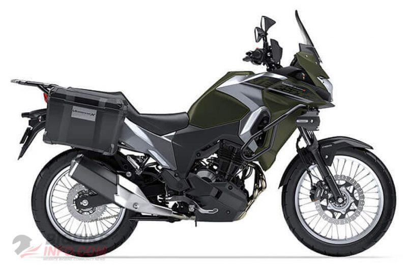 คาวาซากิ เวอร์ซิส เอ็กซ์ 300 สี KHAKI