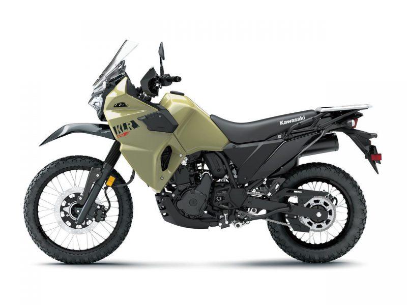 คาวาซากิ KLR650 2021 สีกากี