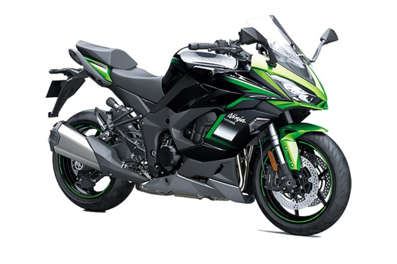 คาวาซากิ Ninja 1000 SX 2021 Emerald Blazed Green-Metallic Diablo Black-Metallic Graphite Grey