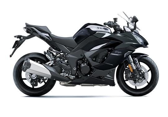 คาวาซากิ Ninja 1000 SX 2021 Metallic Moondust Grey-Metallic Diablo Black