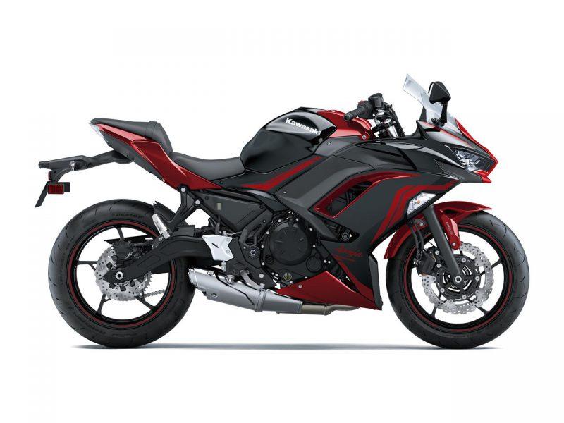 คาวาซากิ Ninja 650 KRT edition 2021 สีดำ-แดง