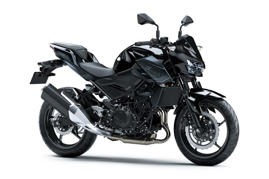 สีใหม่ Kawasaki Z400 2021 พร้อมกราฟิกที่โดดเด่นในราคา 682,000 เยน