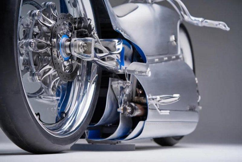 จักรยานยนต์ไฟฟ้าช่วงล้อหลัง