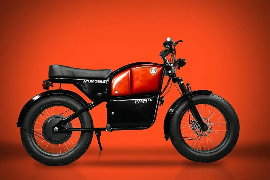 Atumobile เปิดตัว Atum เวอร์ชัน 1.0 จักรยานยนต์ไฟฟ้าสไตล์เรโทร