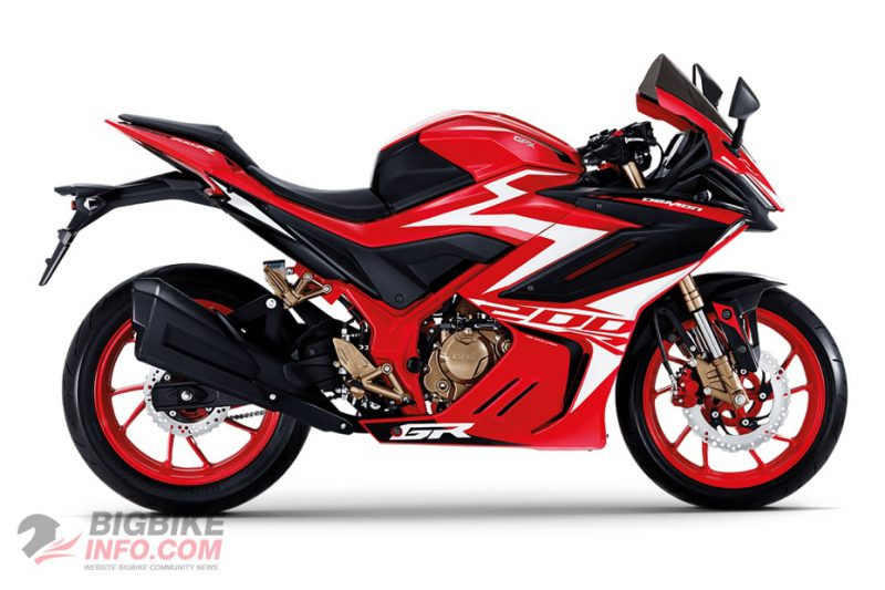 จีพีเอ็กซ์ Demon GR200R ปี 2020 สีแดง