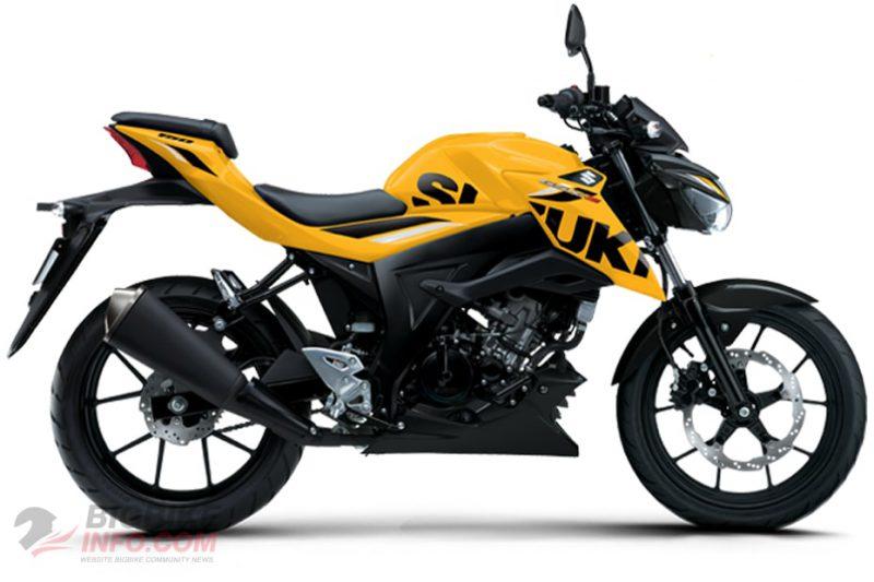 ซูซูกิ จีเอสเอ็กซ์-เอส150 สีเหลือง