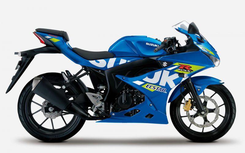 ซูซูกิ GSX-R125 ABS 2021 สีฟ้า