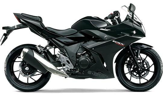 ซูซูกิ GSX250R 2021 สีดำ