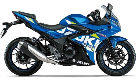 ซูซูกิ GSX250R 2021 สีฟ้า