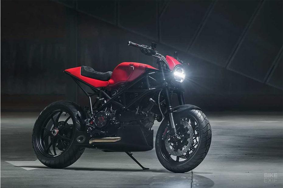 อิตาลีเปิดตัวรุ่น Ducati Multistrada เวอร์ชั่น Cafe Racer สไตล์ที่โดดเด่นไม่เหมือนใคร
