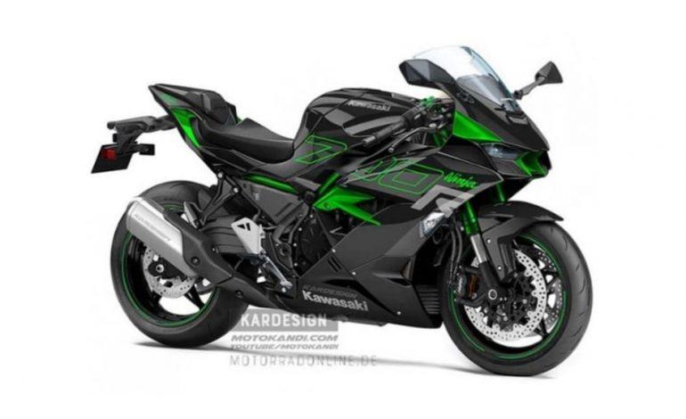 Kawasaki เตรียมเปลี่ยนมอเตอร์สำหรับ Ninja ZX-6R ใช้เครื่องยนต์ 700cc