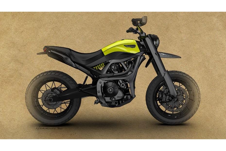 เผยอาจเป็นภาพจักรยานยนต์ใหม่ Ducati Scrambler 1100 Pro ก็เป็นได้
