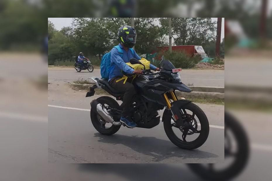 เผยภาพจักรยานยนต์ BMW 310cc วิ่งทดสอบในอินเดียคาดเป็นเวอร์ชั่น 2021