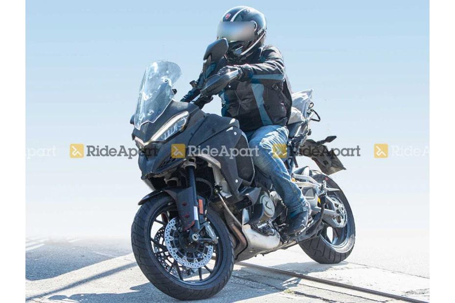 เผยโฉม Ducati Multistrada V4 วิ่งทดสอบคาดเปิดตัวใน World Ducati Premiere 2020