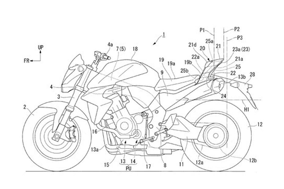 เผยภาพร่าง Honda CBR600RR-R 2021 จักรยานยนต์บิ๊กไบค์สปอร์ตใหม่