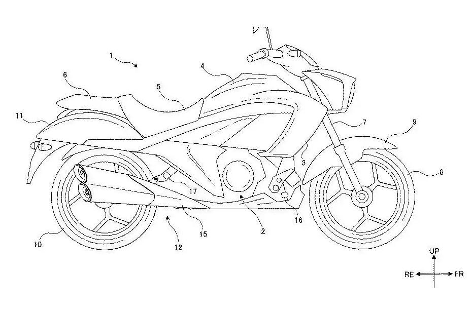 เผยภาพร่างสิทธิบัตรของ Suzuki ที่ออกแบบท่อไอเสียและ Oil Cooling System ใหม่
