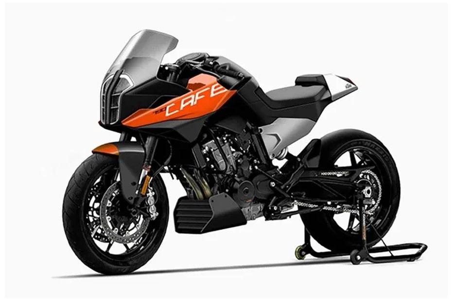 เผยภาพ KTM 790 Cafe Racer ที่ออกแบบโดย SKK AutoDesign