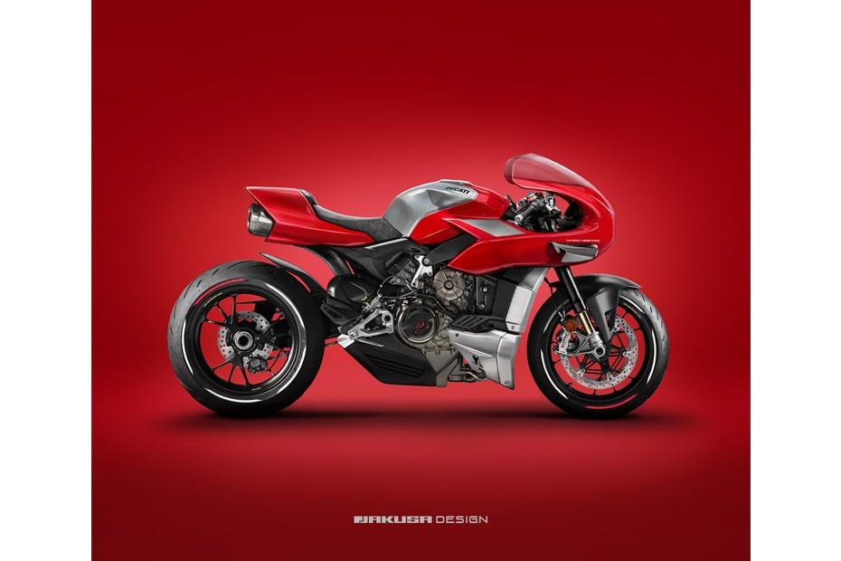 ภาพเรนเดอร์ Ducati MH900 แปลงโฉมใหม่โดย Tamas Jakus เสริมลุคให้โดดเด่น