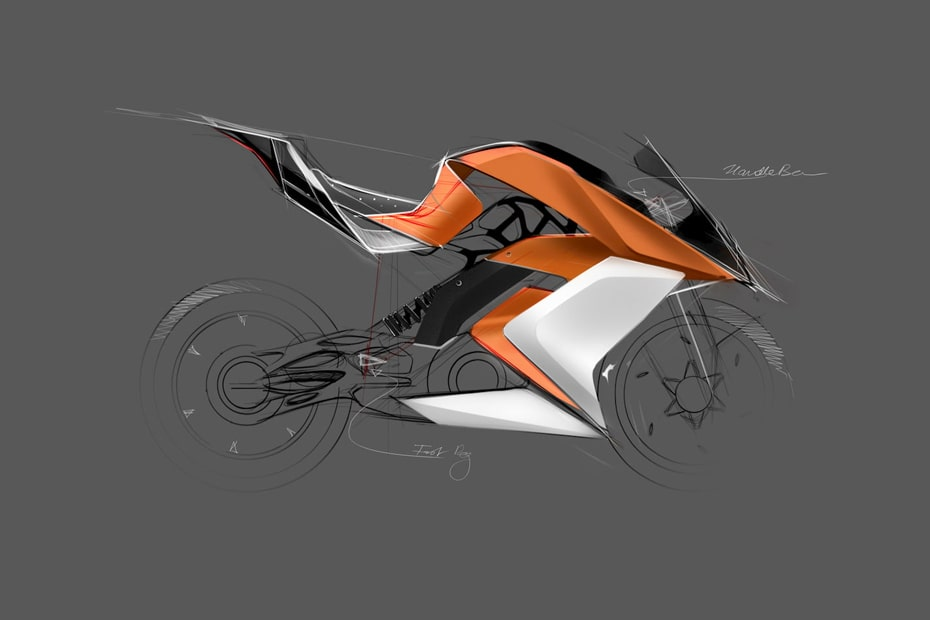เซอร์ไพรส์กับการออกแบบ KTM RC8 มอเตอร์ไซค์ไฟฟ้า โดย Mohit Solanki