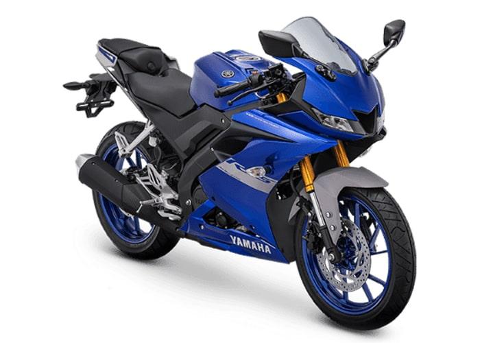 ยามาฮ่า R15 2021 สีน้ำเงิน เวอร์ชั่นอินโดนีเซีย