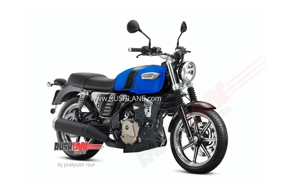 เผยภาพจักรยานยนต์ที่ Bajaj ร่วมมือกับ Triumph รถจักรยานยนต์ 200cc กับ 5 สีใหม่