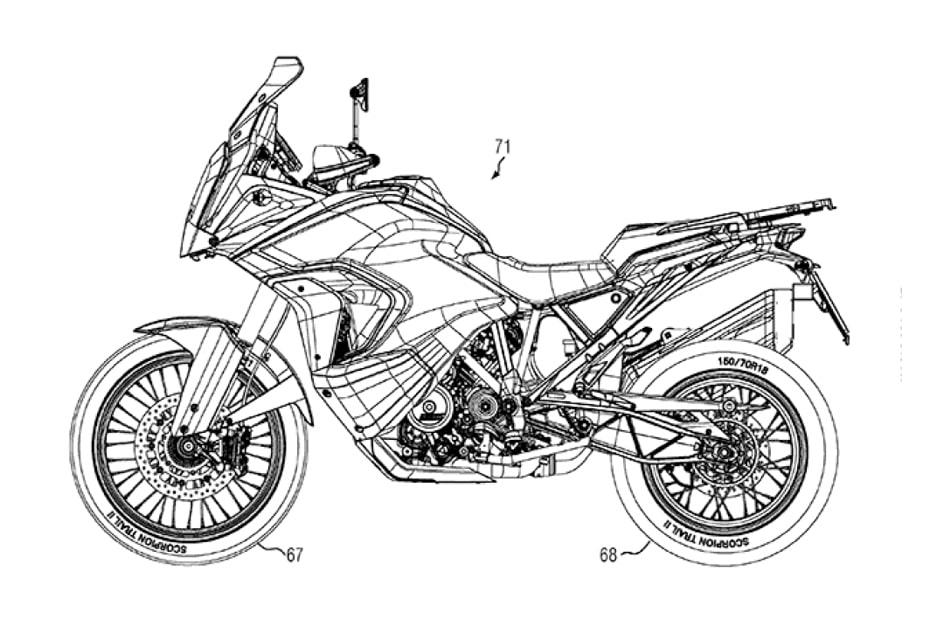 เผยสิทธิบัตร KTM 1290 Super Advennture 2021 เผยภาพร่างที่น่าสนใจ